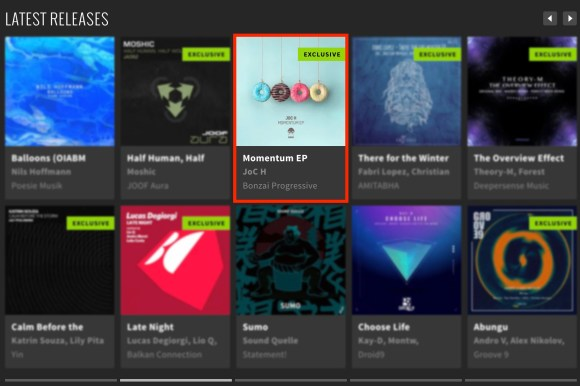 JOC H – MOMENTUM EP FEATURED BY BEATPORT