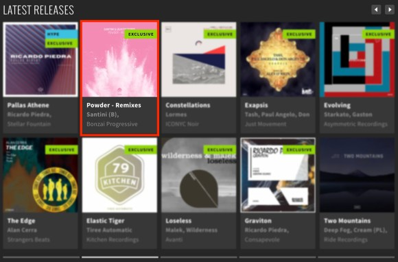 SANTINI & QUATRETEMPS – POWDER – REMIXES FEATURED BY BEATPORT