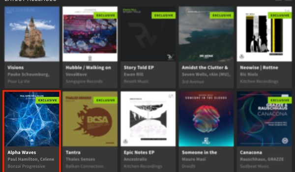 PAUL HAMILTON & CELENE – ALPHA WAVES FEATURED BY BEATPORT