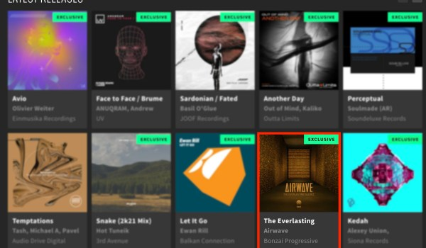 AIRWAVE – THE EVERLASTING SILENCE FEATURED BY BEATPORT
