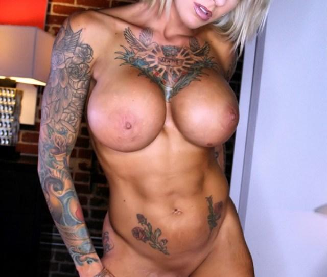 Photo Duchess Dani Full Nude Bedroom 18 366x549 Tattooed Babe Duchess Dani Fondles Her