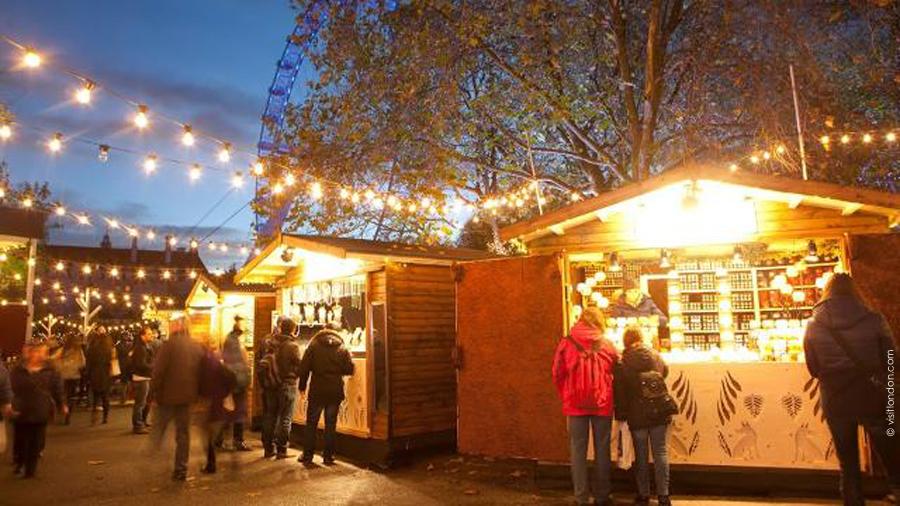 Winter Market Londres