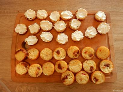 Mini cakes salés