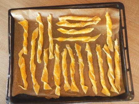 torsades au parmesan