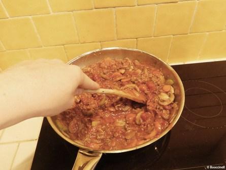 gratin of bolognaise gnocchis