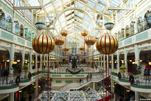 visiter Dublin en une journée Stephen Green shopping center