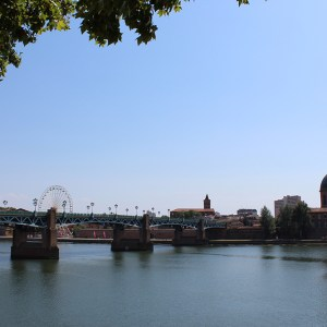 Toulouse à vélo - Pont Neuf