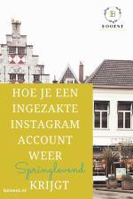 Hoe je een ingezakte instagram account weer sprinlevend krijgt