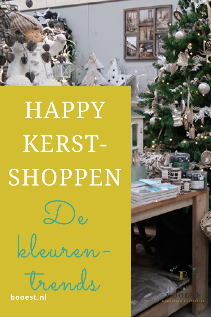 happy kerstshoppen de kleurentrends www.www.booest.nl/happy-kerstshoppen-de-kleurentrends