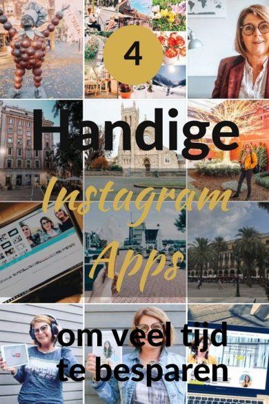 4 Handige Instagram apps om veel tijd te besparen