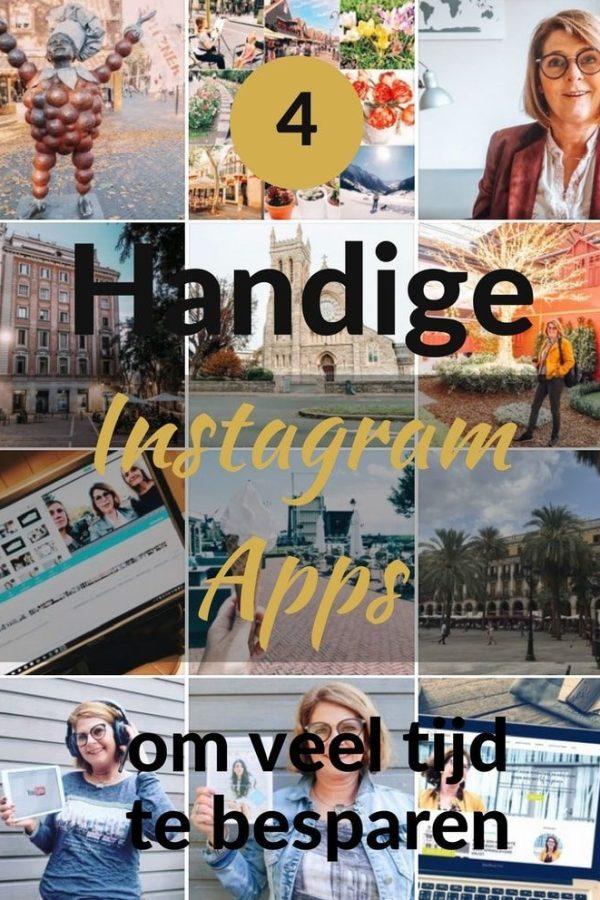 4 Handige Instagram apps om tijd te besparen.