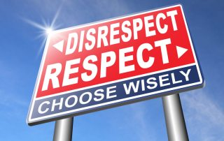 what does respect mean by Dianna Booher