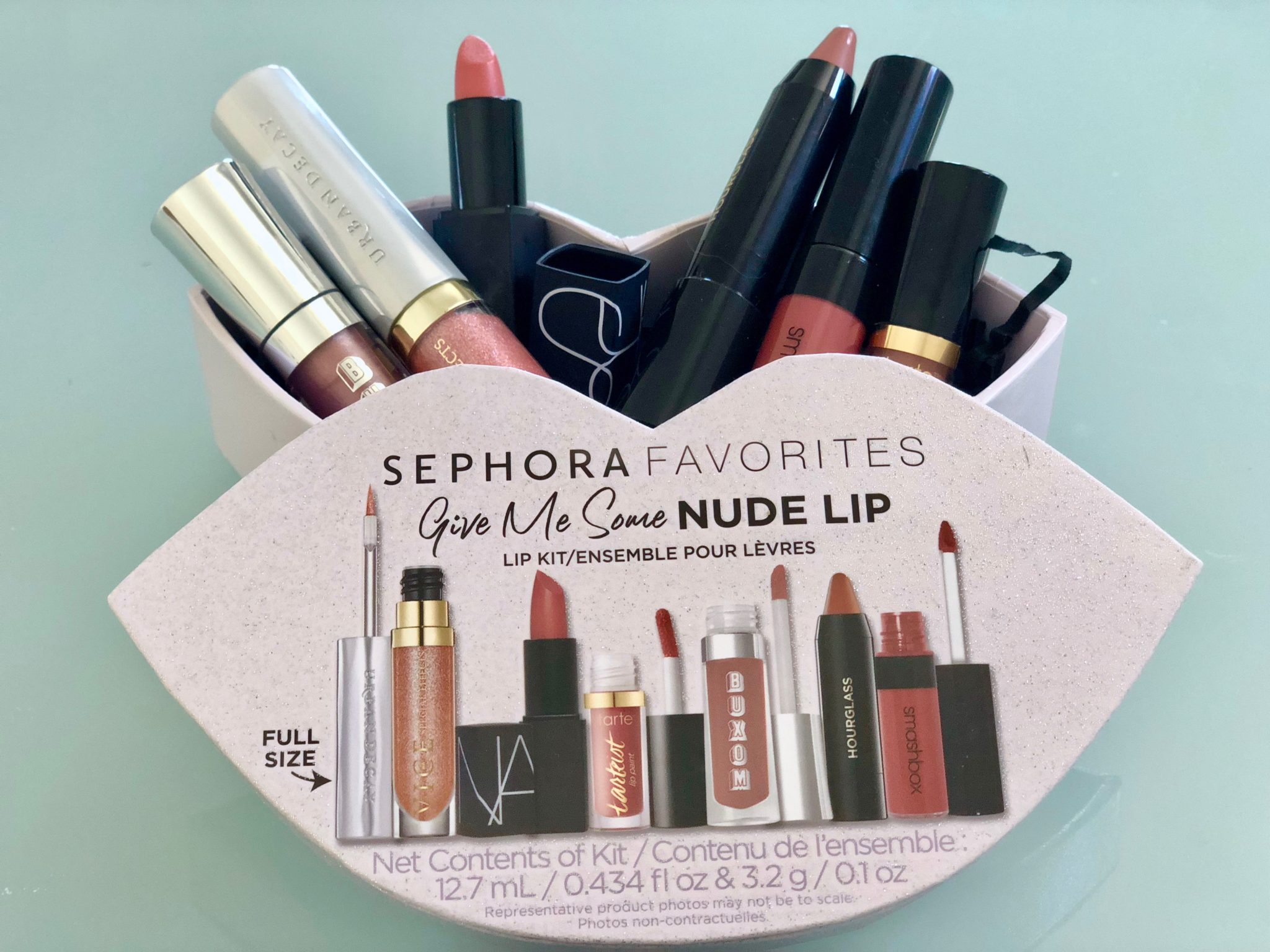 IS IT WORTH IT?   Sephora Favorites 2018 Give Me Some Nude Lip kit