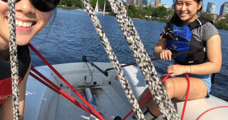 Summer Sailing on the Charles River