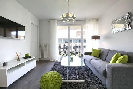 Appartement Meubl Quartier Levallois Paris