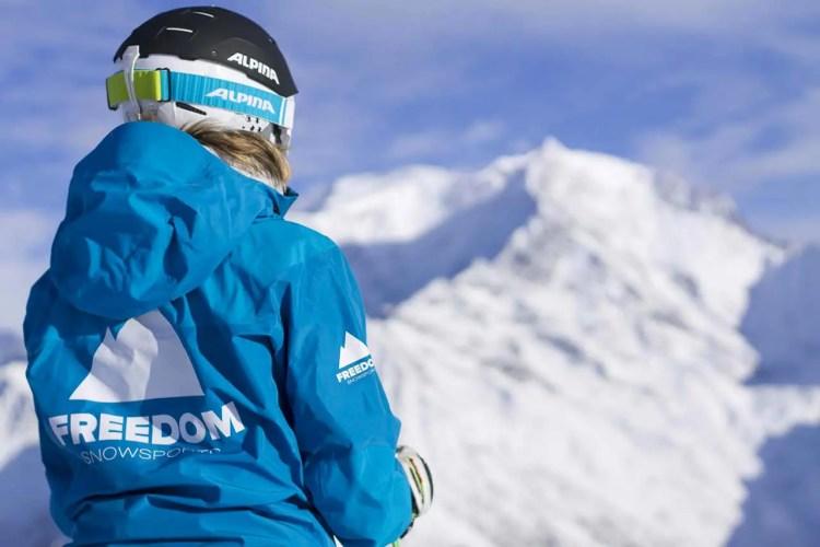 Female Ski Instructor Mt Blanc