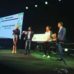 Danish Entrepreneurship award of 2016. BooK2wheel