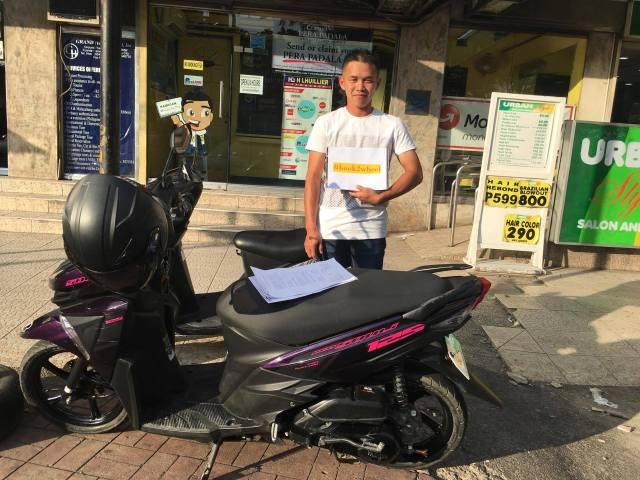 Motorcycle rental cebu