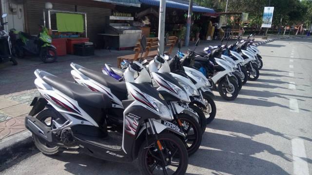 langkawi Island motorbike rental
