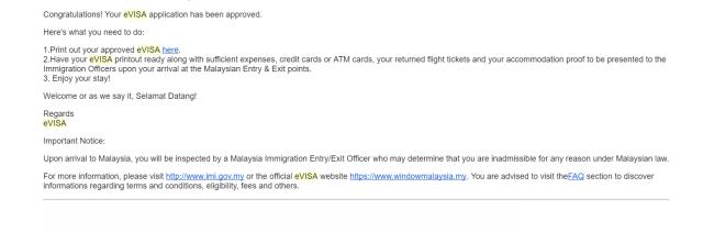 e visa for Malaysia for Pakistani citizen