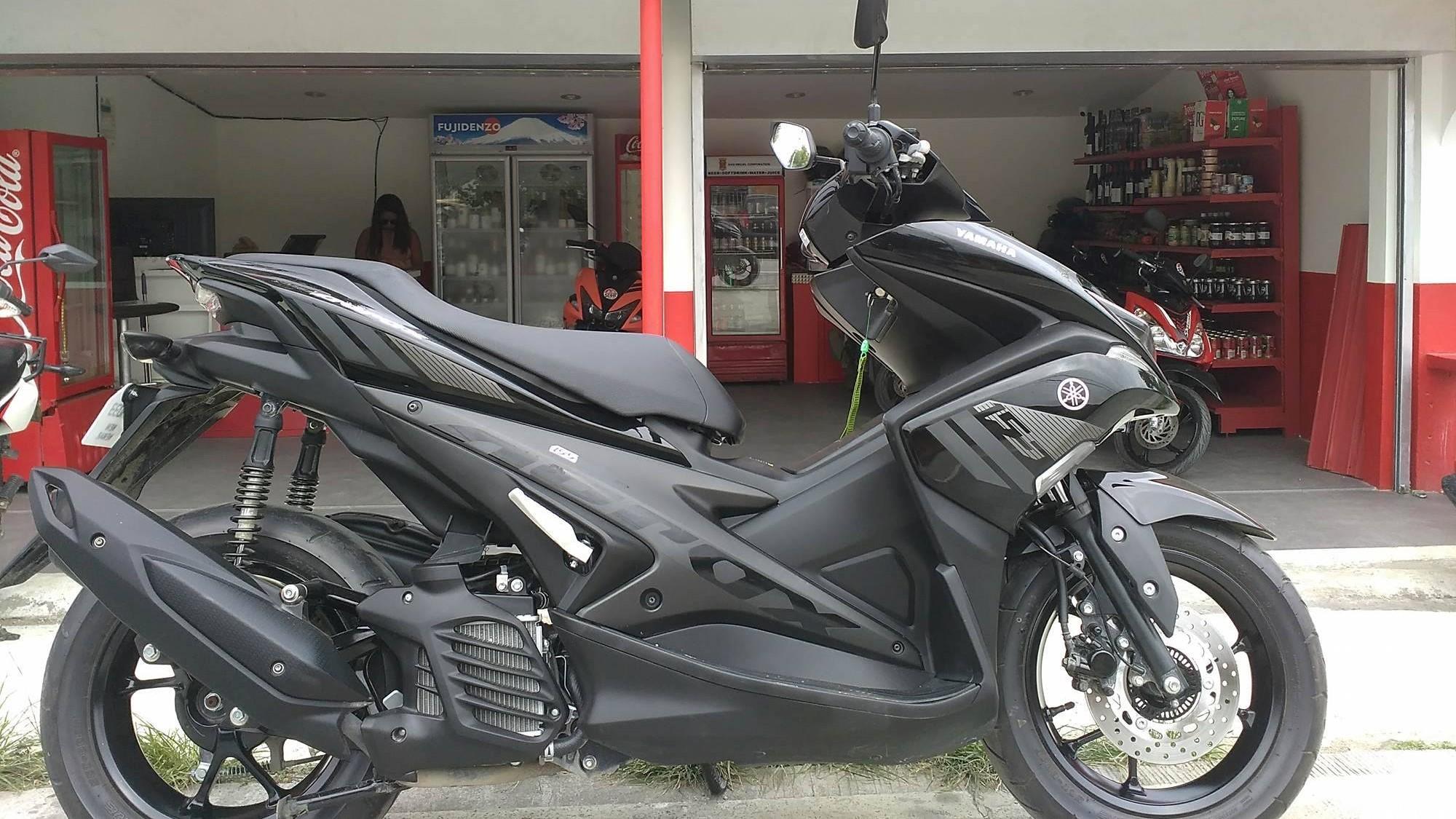 Motorbike rental Puerto Galera