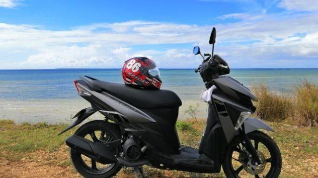 Yamaha motorbike in Naga city