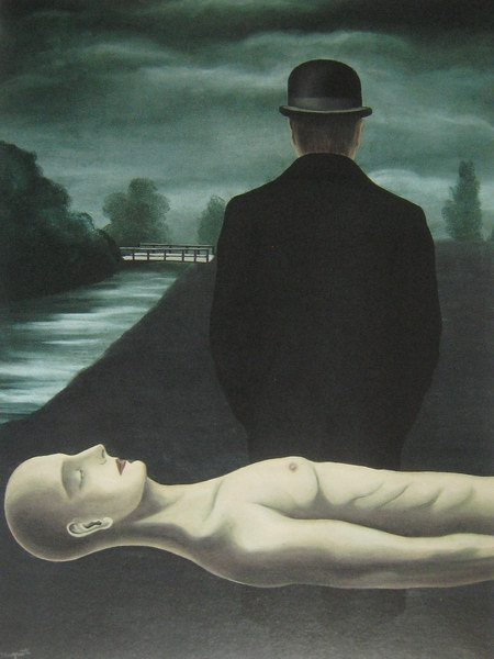 Magritte, Musings of a Solitary Walker, 1926