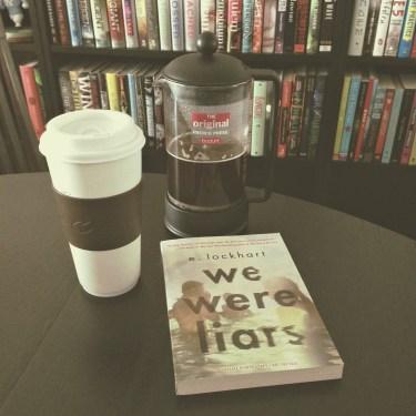 tara book and a beverage