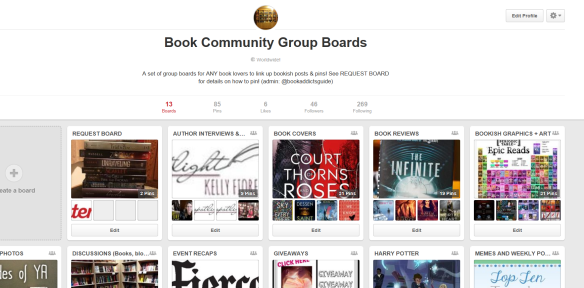 bookish pinterest