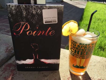 book and a beverage lucy the reading date