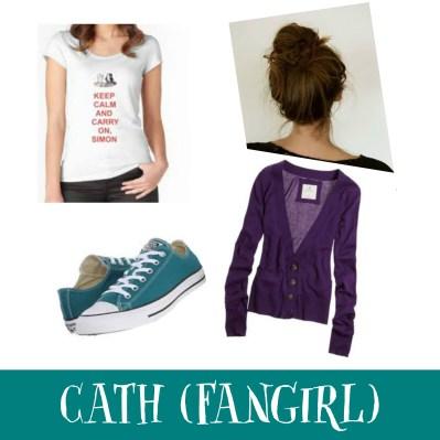 cath fangirl costume