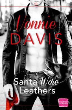 Santa Wore Leathers By Vonnie Davis