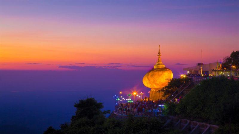 Kyaiktiyo Pagoda, Myanmar