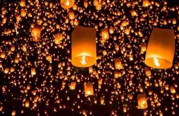 Lantern festival, Chiang Mai