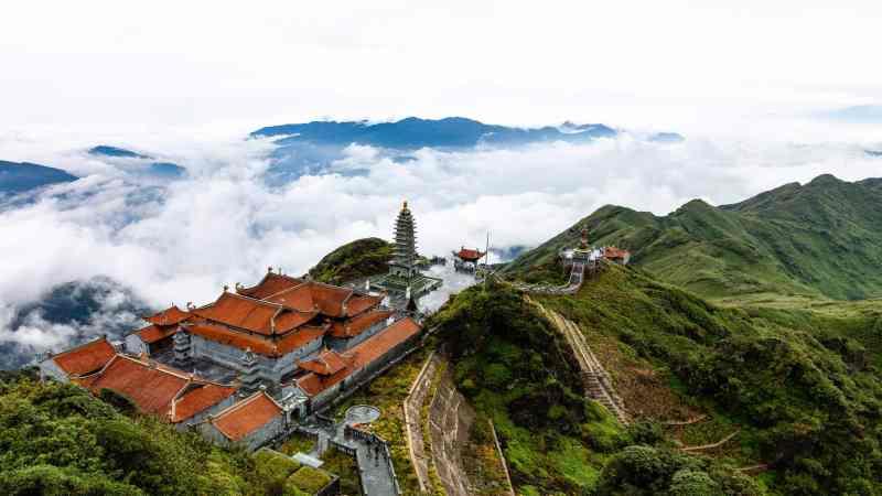 Buddhist Temple, Mount Fansipan