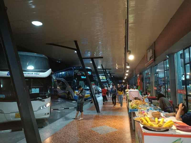 Thai bus station