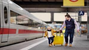 Family train travel