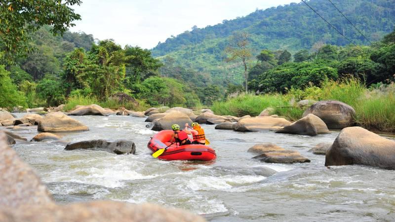 White water rafting, Chiang Mai