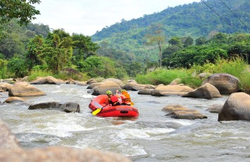 White water rafting, Chiang Mai