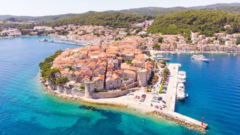 Old Town Korcula, Croatia