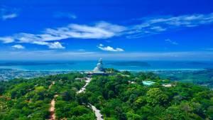 View of Kata Beach from the Big Buddha, Phuket
