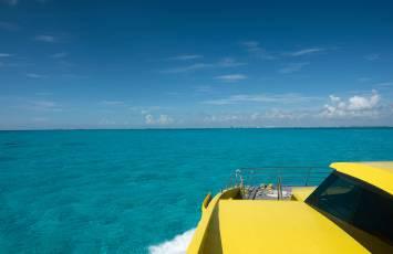 Ultramar ferry from Cancun to Isla
