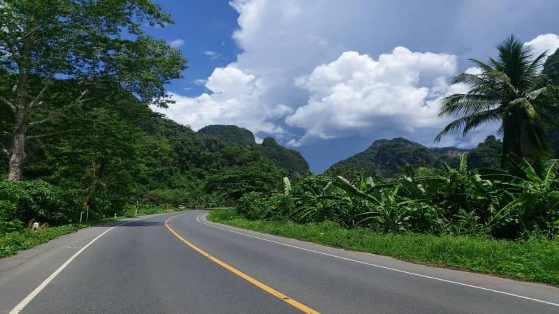 The ride to Khao Sok