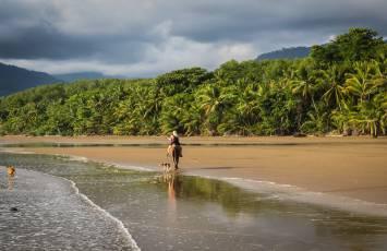 Solo travel, Uvita beach, Costa Rica