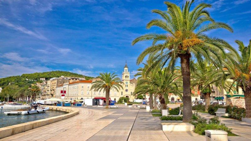 Split, Croatia waterfront
