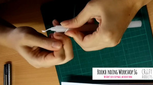 casebinding-waxing your thread