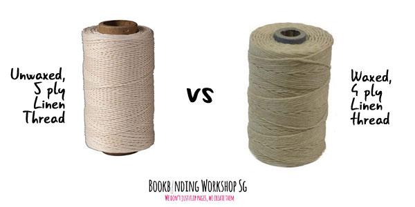 Thread   Bookbinding Material 101   Bookbinding Workshop Singapore