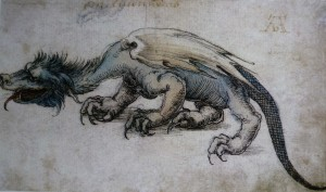 bookblast durer dragon