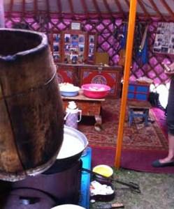 bookblast ger interior mongolia
