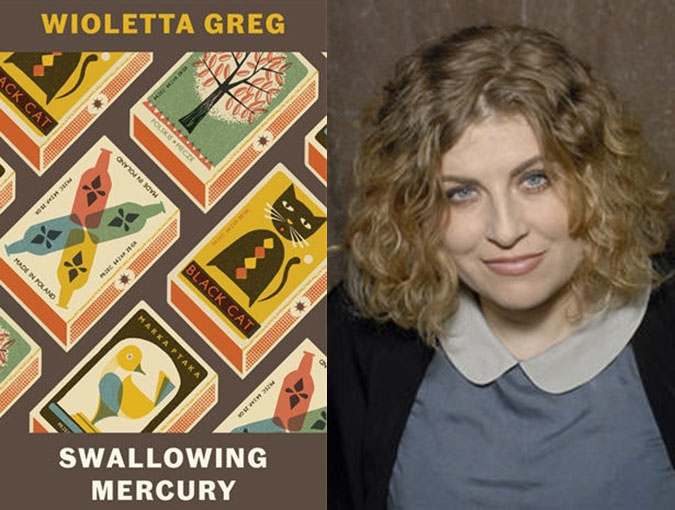 Book of the Week | Swallowing Mercury by Wioletta Greg